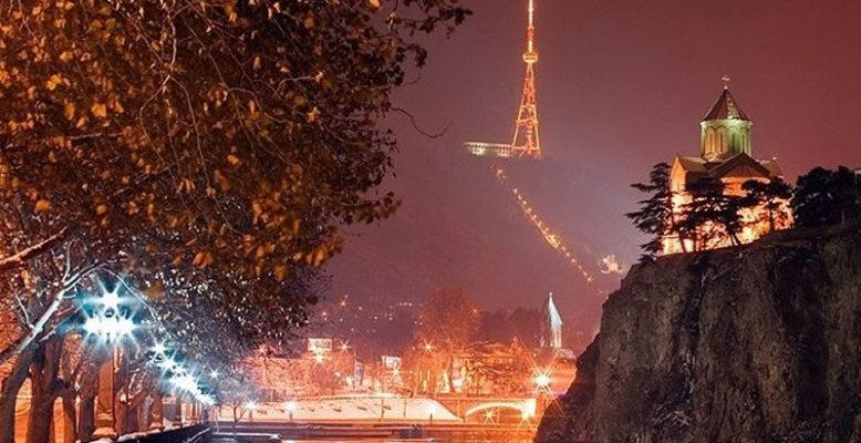 зима в тбилиси