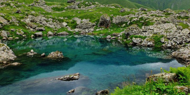 Озеро Абуделаури
