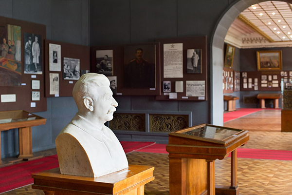 GORI, GEORGIA - MAY 05, 2015: Museum of Joseph Stalin in Gori, the birth town of Stalin. Joseph Stalin was the leader of the Soviet Union from the 1920s until in1953.